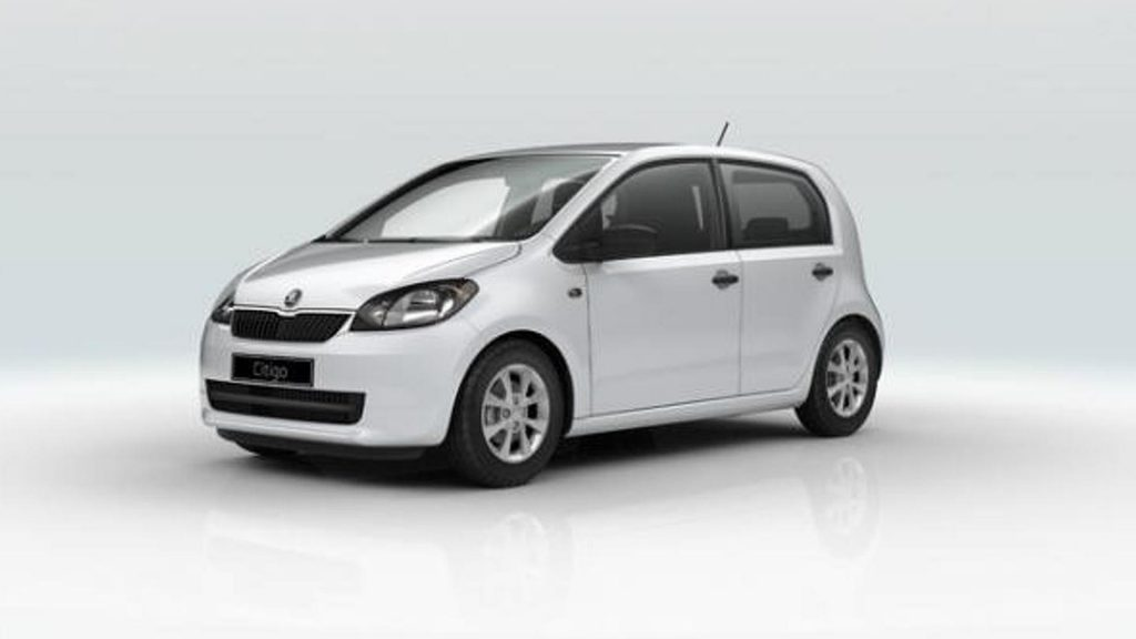 Lemnos car hire Skoda Citigo